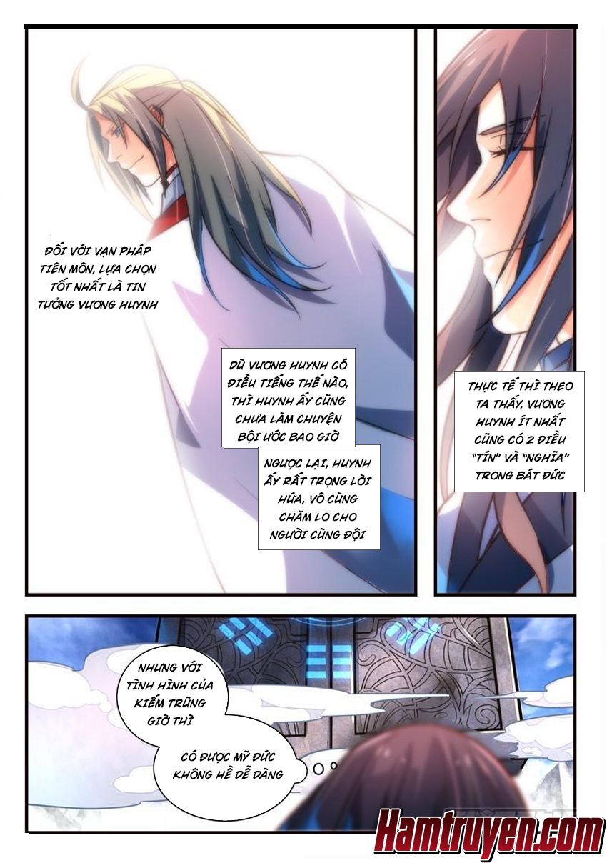 Tung Tiền Hữu Tọa Linh Kiếm Sơn Chap 316 - Trang 11