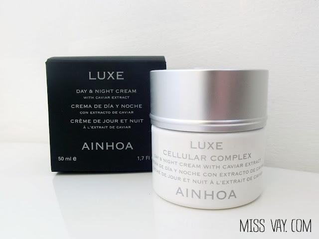 Des soins de beauté au caviar par Ainhoa