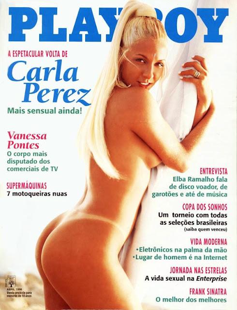 Carla Perez - Playboy 1998