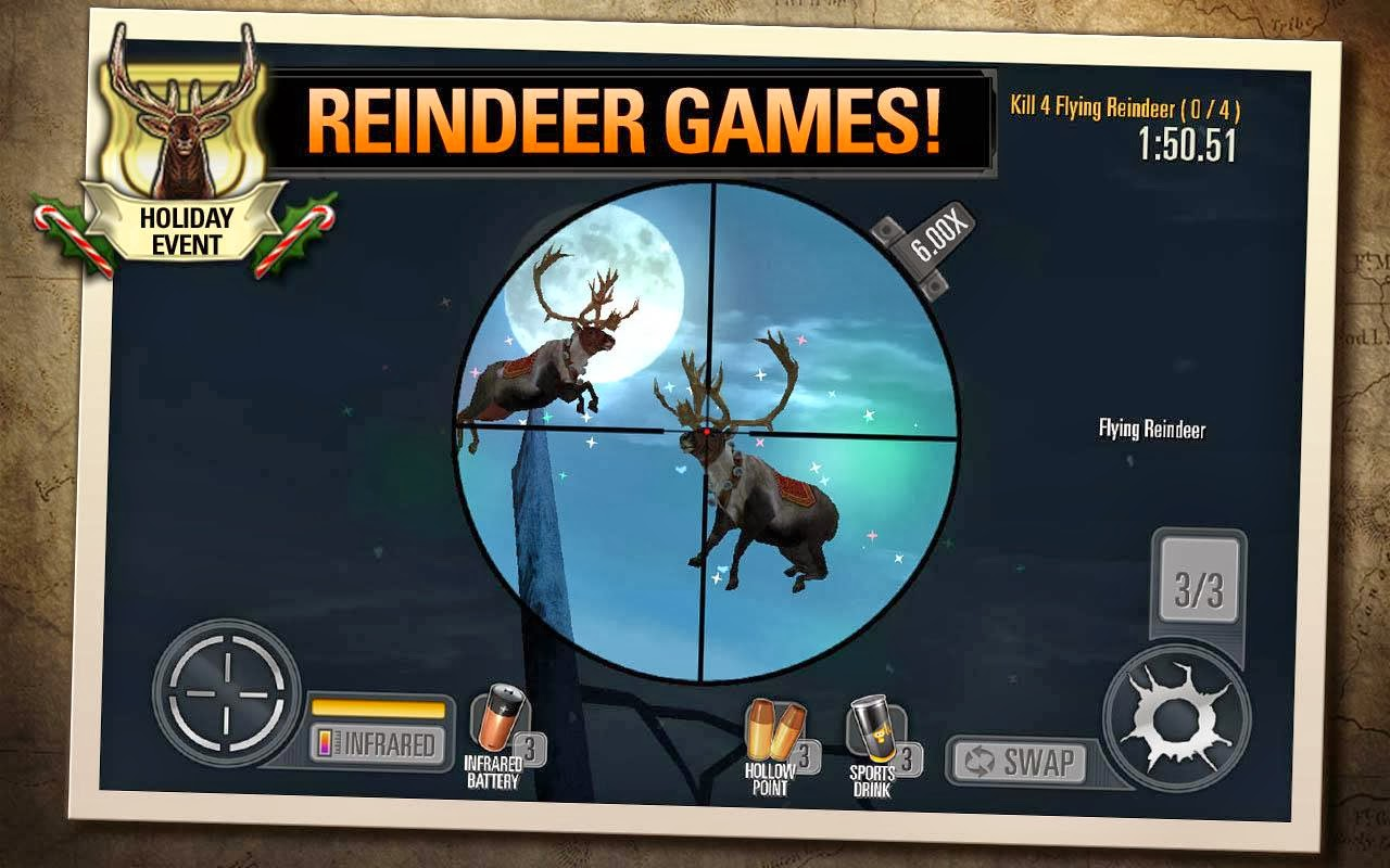 ANDROID: Deer Hunter 2014 (Unlimited Money & Glu) 1.2.4 (ANDROID MOD