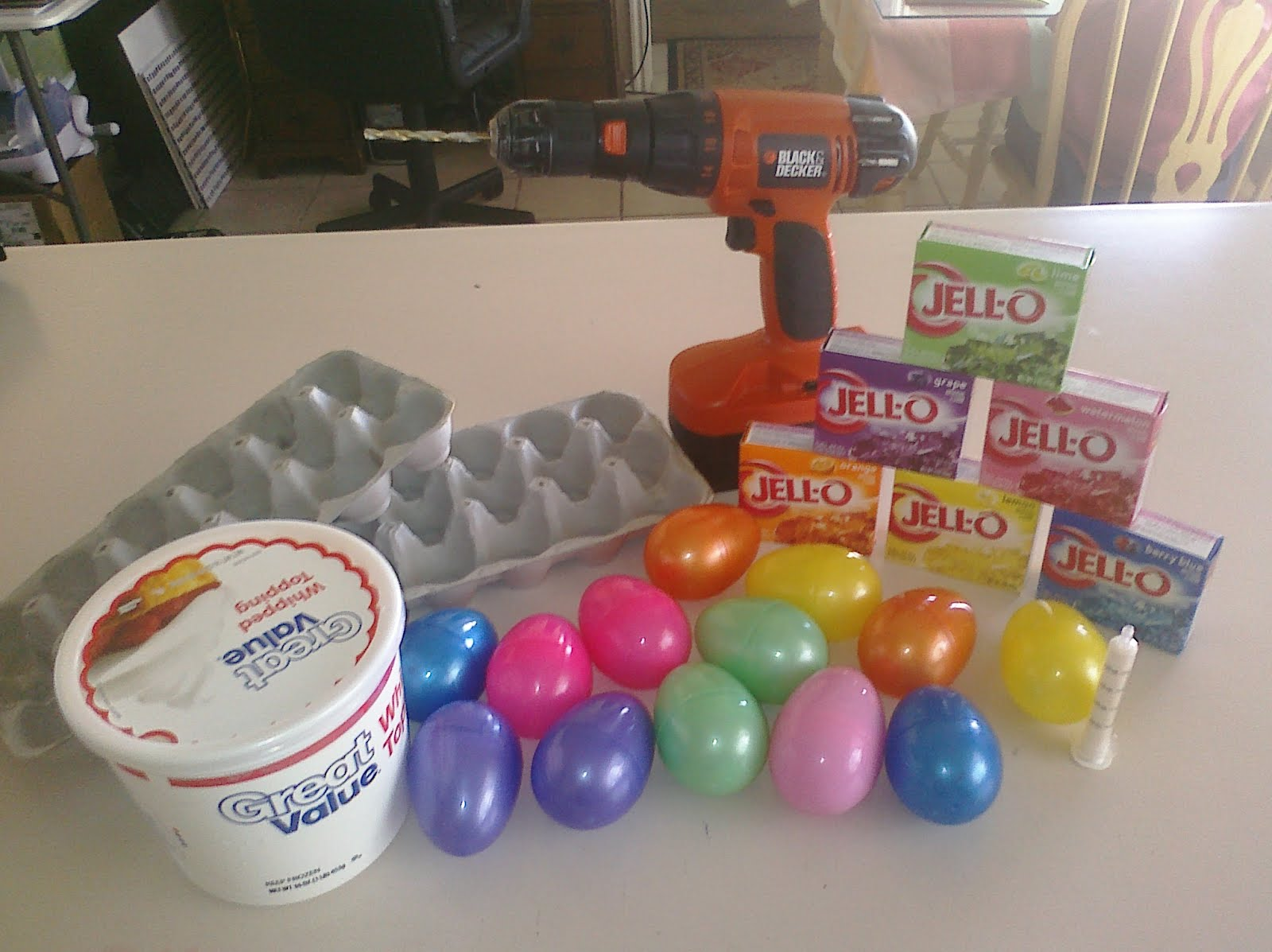 Diy Easter Egg Jello Molds