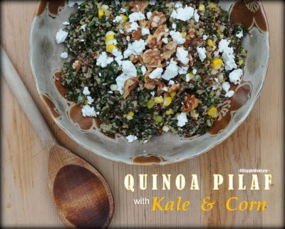 Quinoa Pilaf with Kale & Corn Recipe