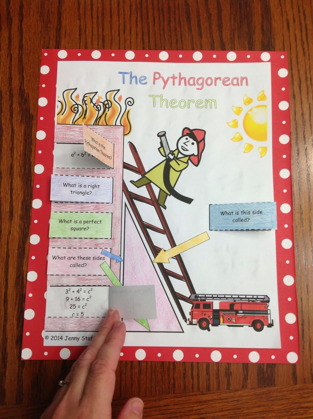 Hands-On Explorations of the Pythagorean Theorem (Math Giraffe ...