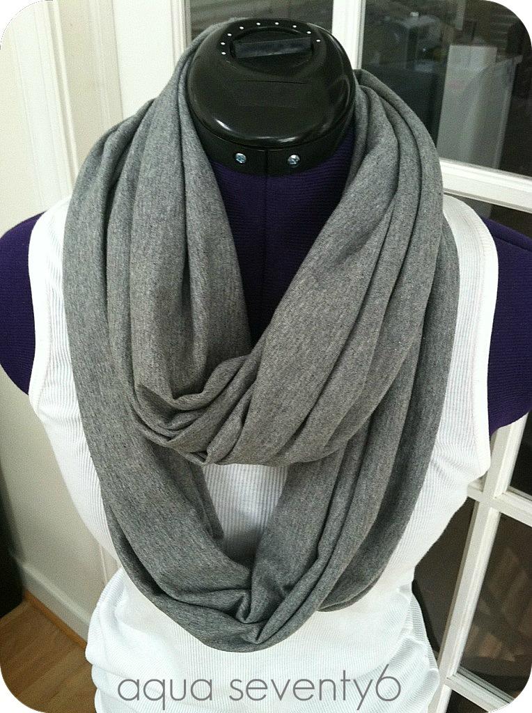 aqua seventy6 15 minute infinity scarf