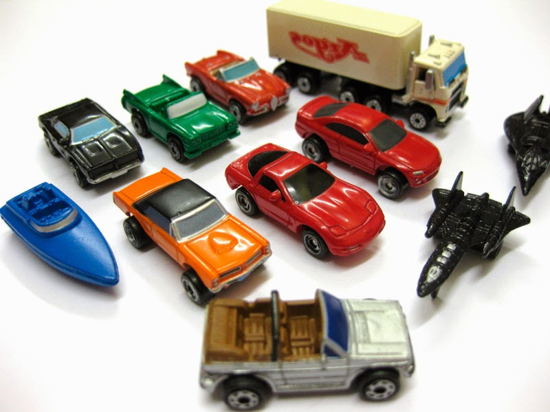 autos de micro machines de juguete