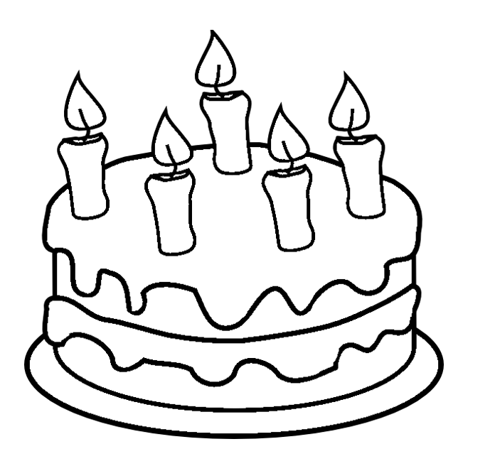 cake food coloring pages - photo#24