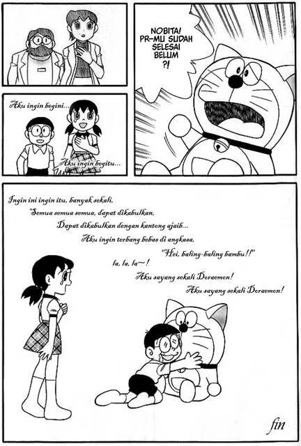 Komik Akhir Cerita Film Doraemon & Nobita
