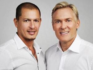 Rubem Robierb e Sam Champion esperam ajudar casais do mesmo sexo ao redor do mundo (Foto: Divulgação)