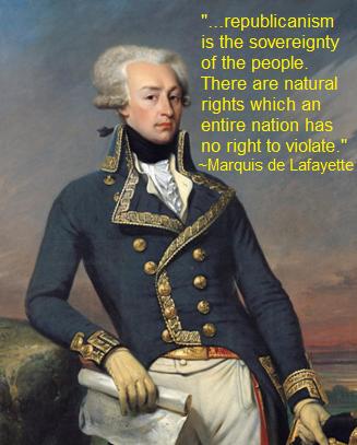 Lafayette quote