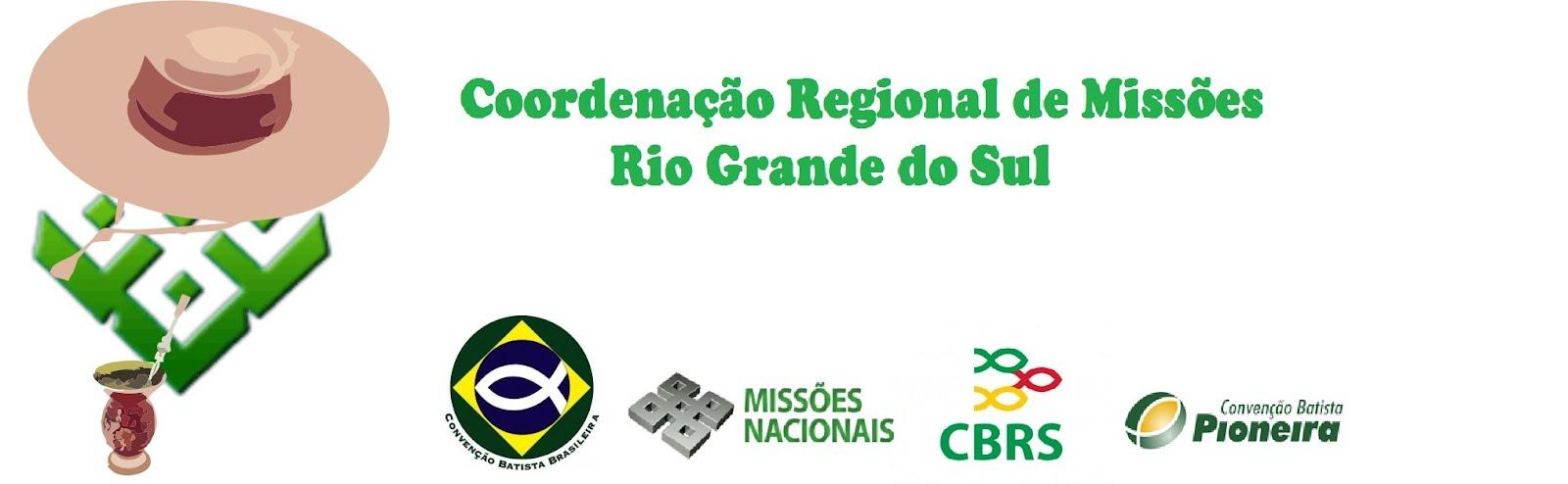 Coordenação Regional de Missões - Rio Grande do Sul