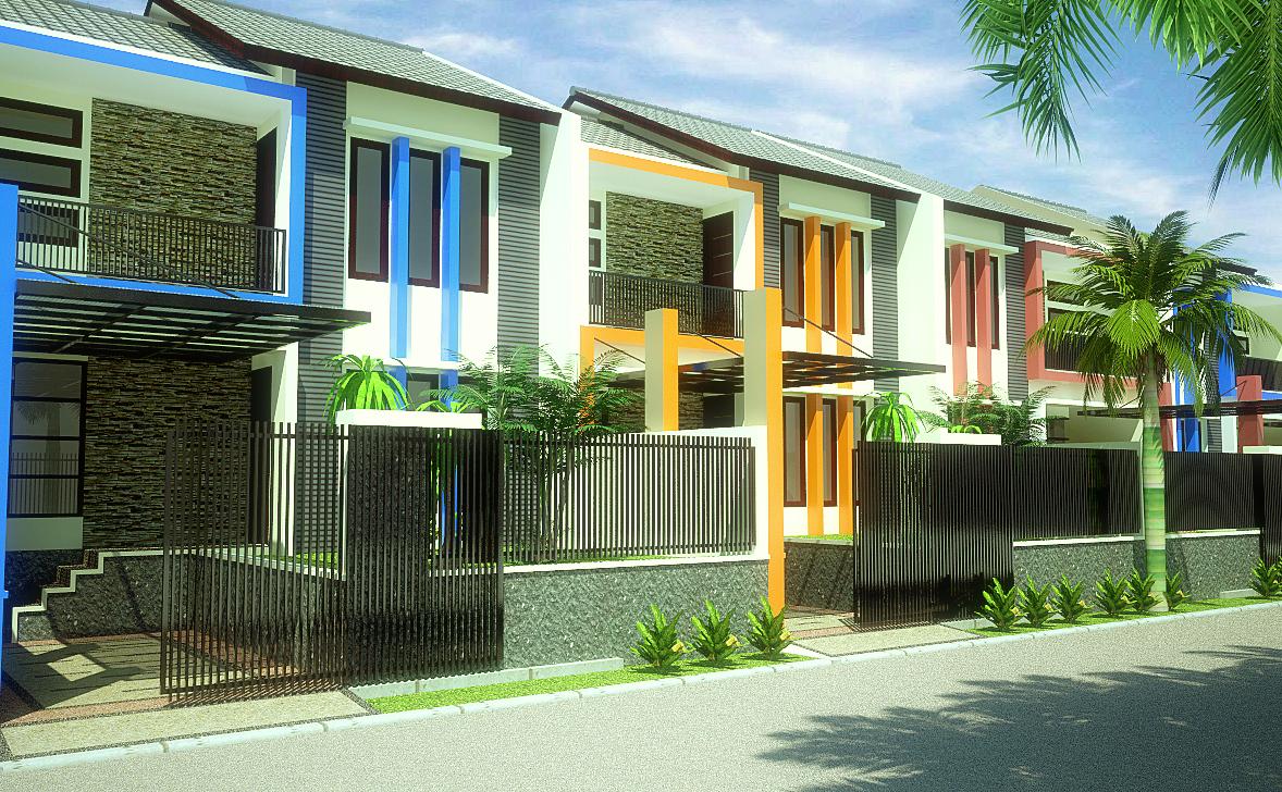 Design visualizer perumahan blok r for Design visualizer