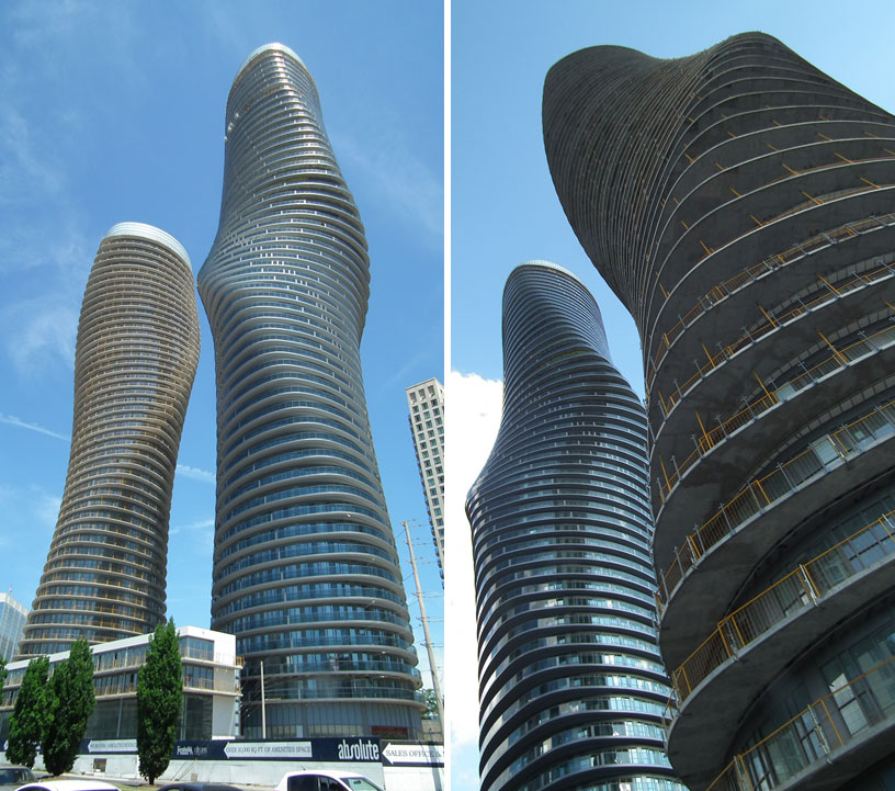 Architecture art code facade absolute towers by mad for Absolute towers