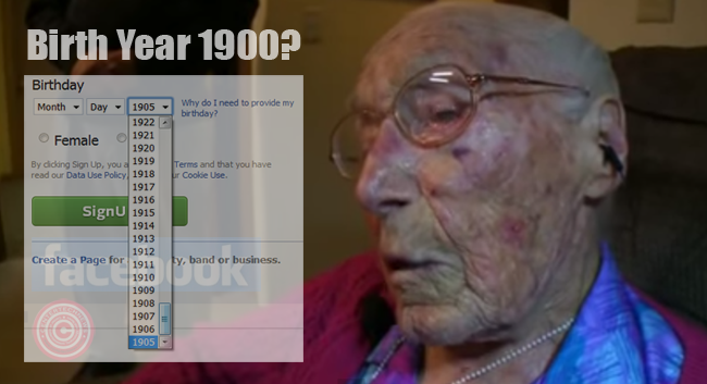 A 113 Year Old Anne Stoehr Makes Her Age Younger Just to Sign-up Facebook Account