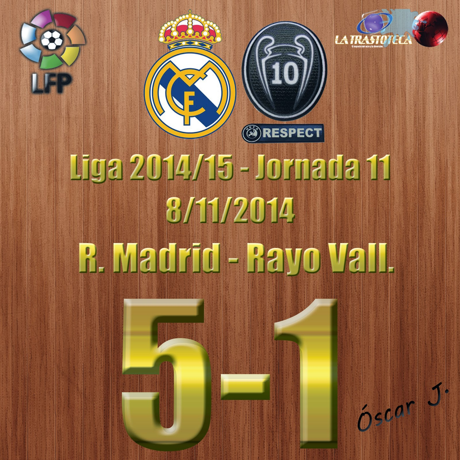Real Madrid 5-1 Rayo
