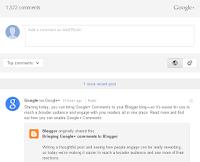 Google meluncurkan Google+ Comment