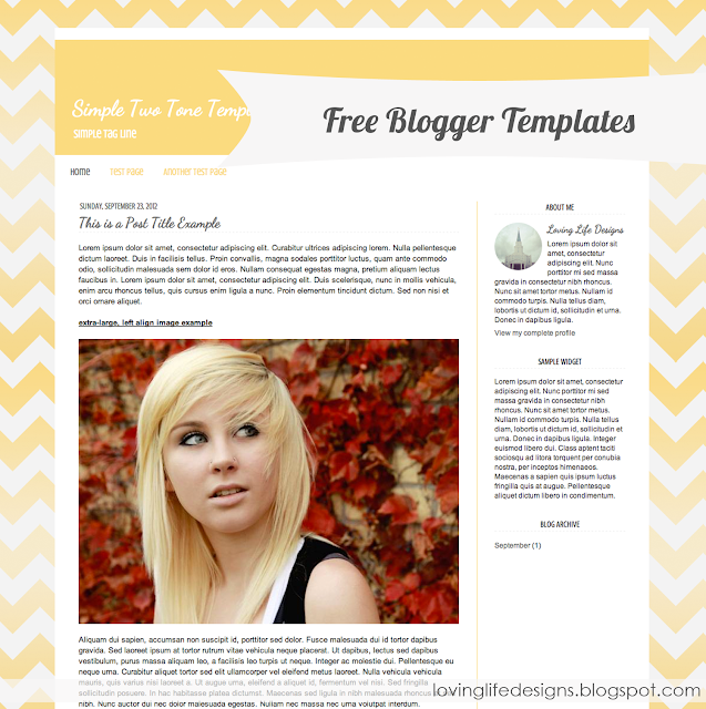 free responsive blogger templates templatezy download