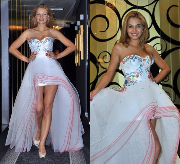 Miss Universe Poland 2011 Rozalia Mancewicz's National Costume