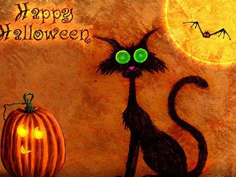 feliz halloween te desea abcdukan