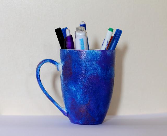 mug galaxy DIY Back to school