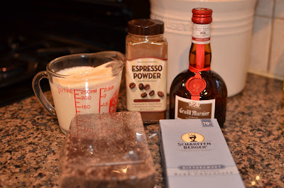 Playing with Flour: Chocolate truffles with Grand Marnier (or plain)