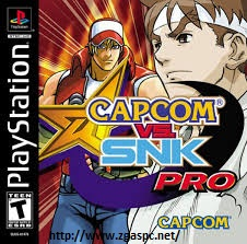 Free Download Games Capcom vs. SNK Pro PSX ISO Untuk Komputer Full Version ZGASPC