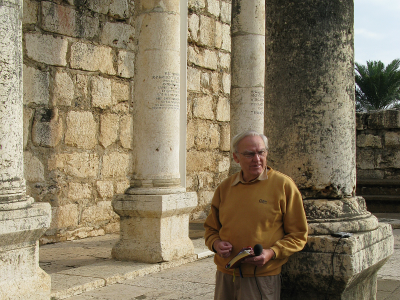 Speaking in the Capernaum synagogue