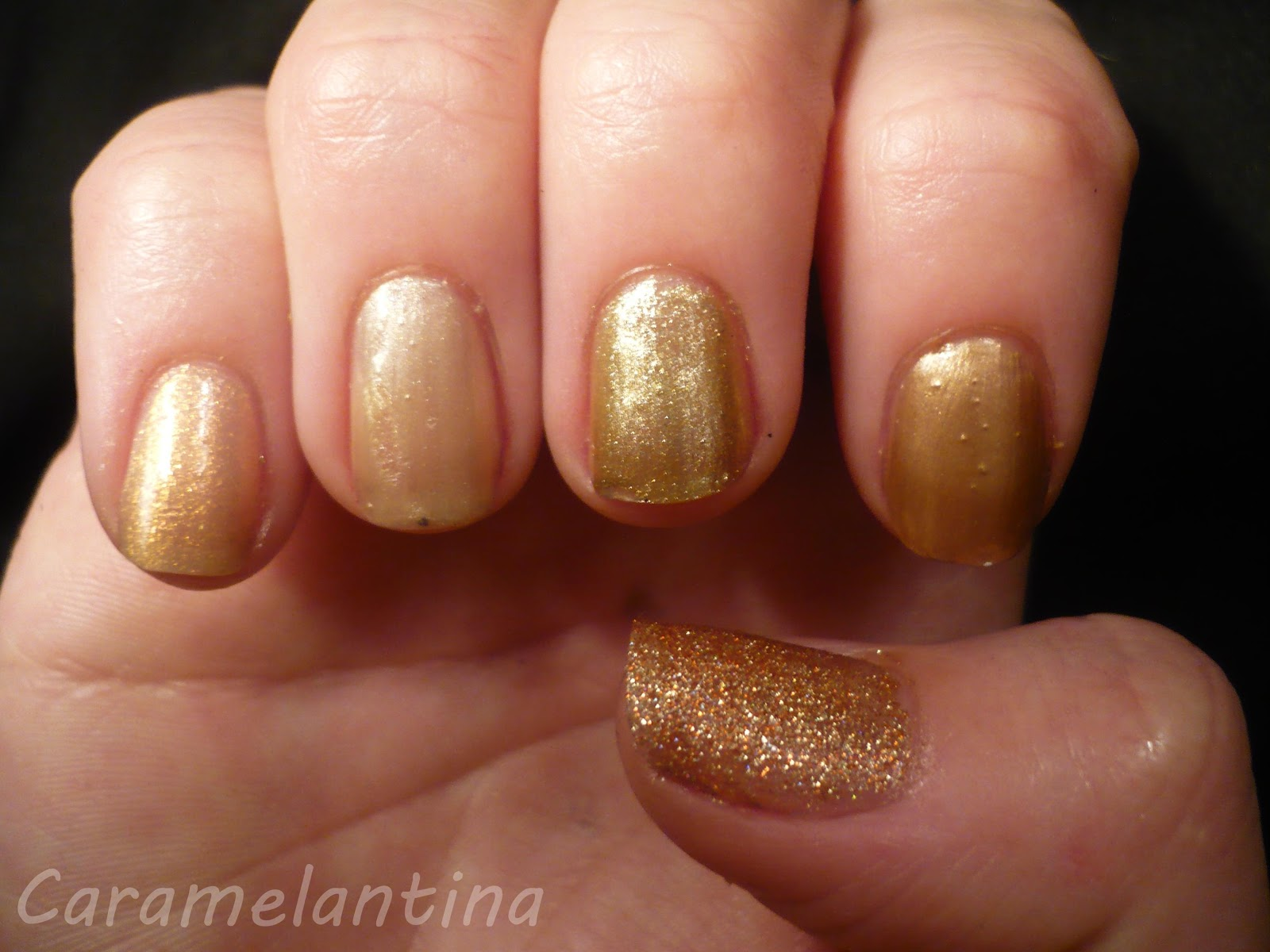 Revlon Gold Coast, Chaivil, Impala Ouro Nobre, Regina Day, China Glaze I Heard That