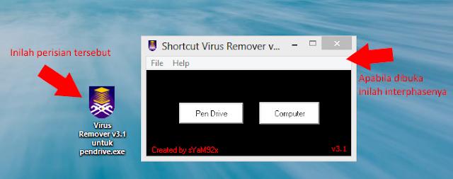 Cara Bersihkan Virus Shortcut Dalam Pendrive Tanpa Format Pendrive