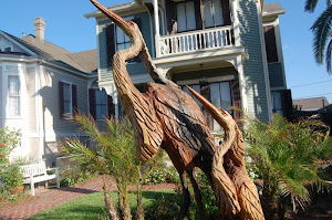 Galveston Island Tree Carvings Tour