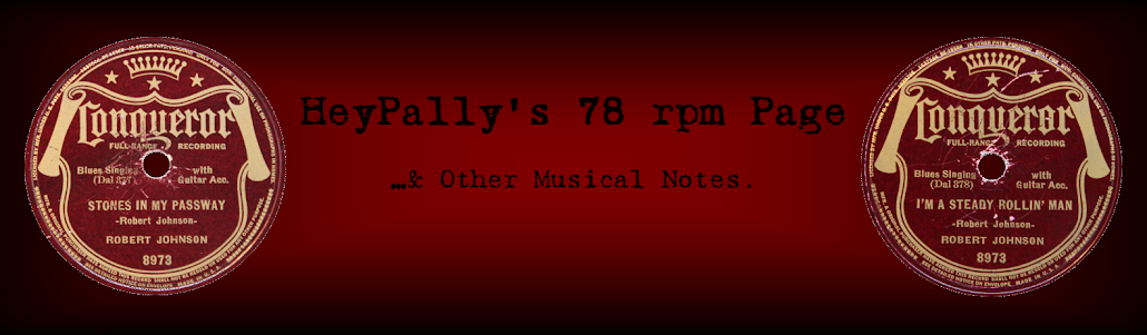 Heypally's 78 RPMs