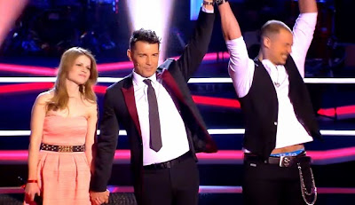Cristina y Samuel cantan Nothing Compares 2 U-La Voz 3. Batallas Gala 3