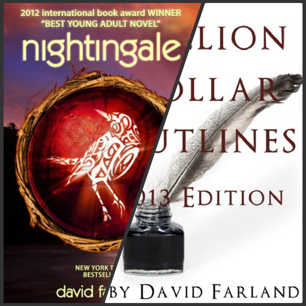 The Book Bomb Worked, Thanks To Everyone's Contribution Yesterday:  Nightingale Hit The Top 100 In Kindle Paid And Million Dollar Outlines Was  Close Behind
