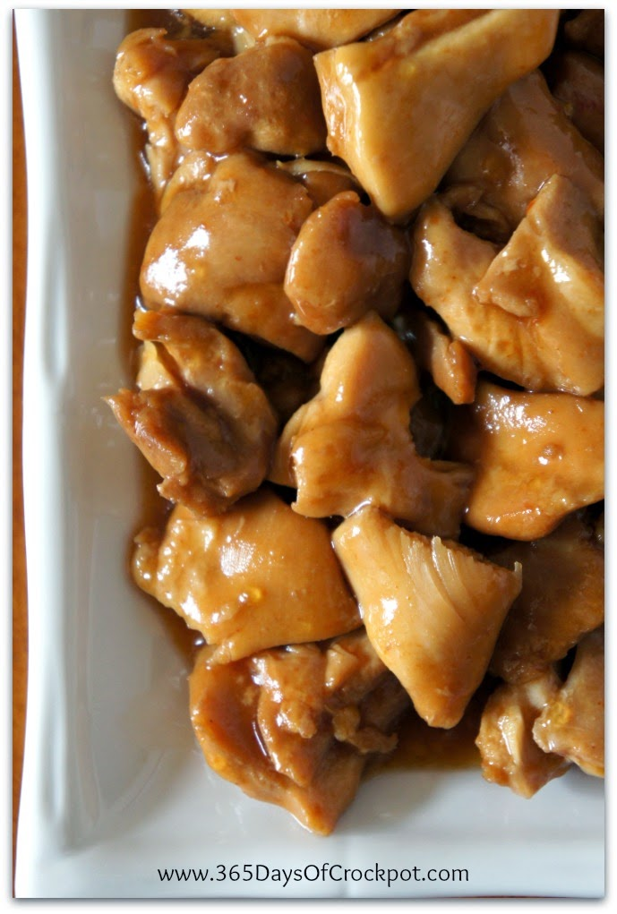 crockpot caramel chicken recipe #dinner #chicken #easydinner #crockpot