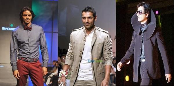 Arjun Rampal, John Abraham and Sonu Sood as a model actor