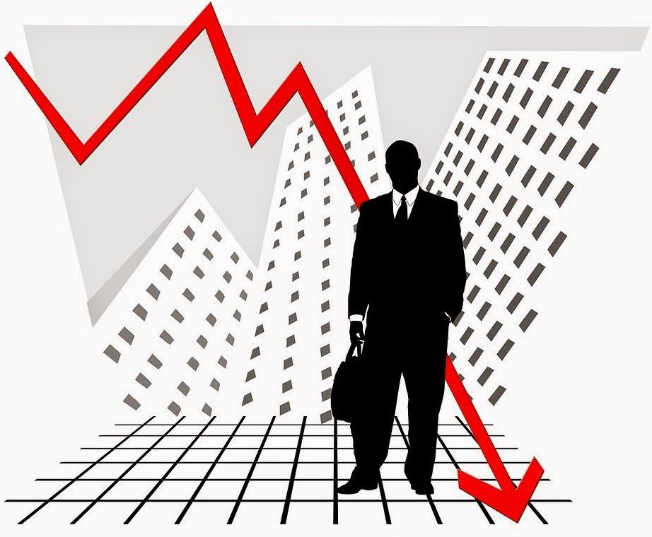 Stock Market Crash Graphic