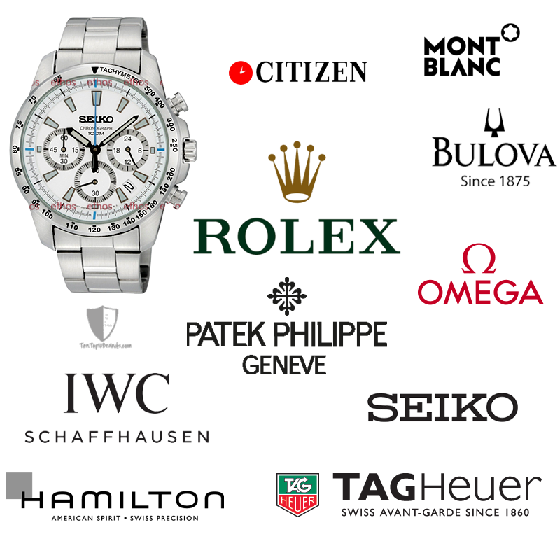 top 10 best selling watch brands in world top 10 brands