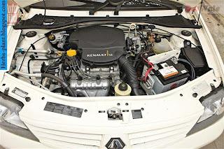 Renault logan car 2012 engine - صور محرك سيارة رينو لوجان 2012