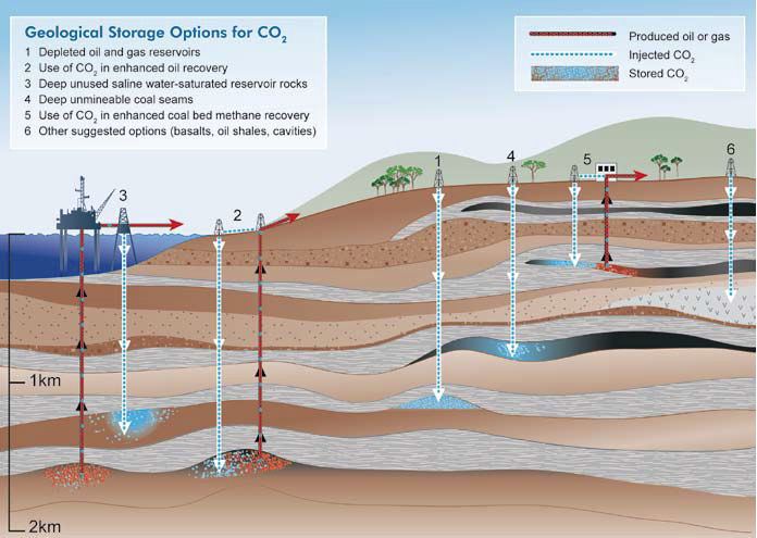 Global Warming Blog By Henry Auer  Carbon Capture And