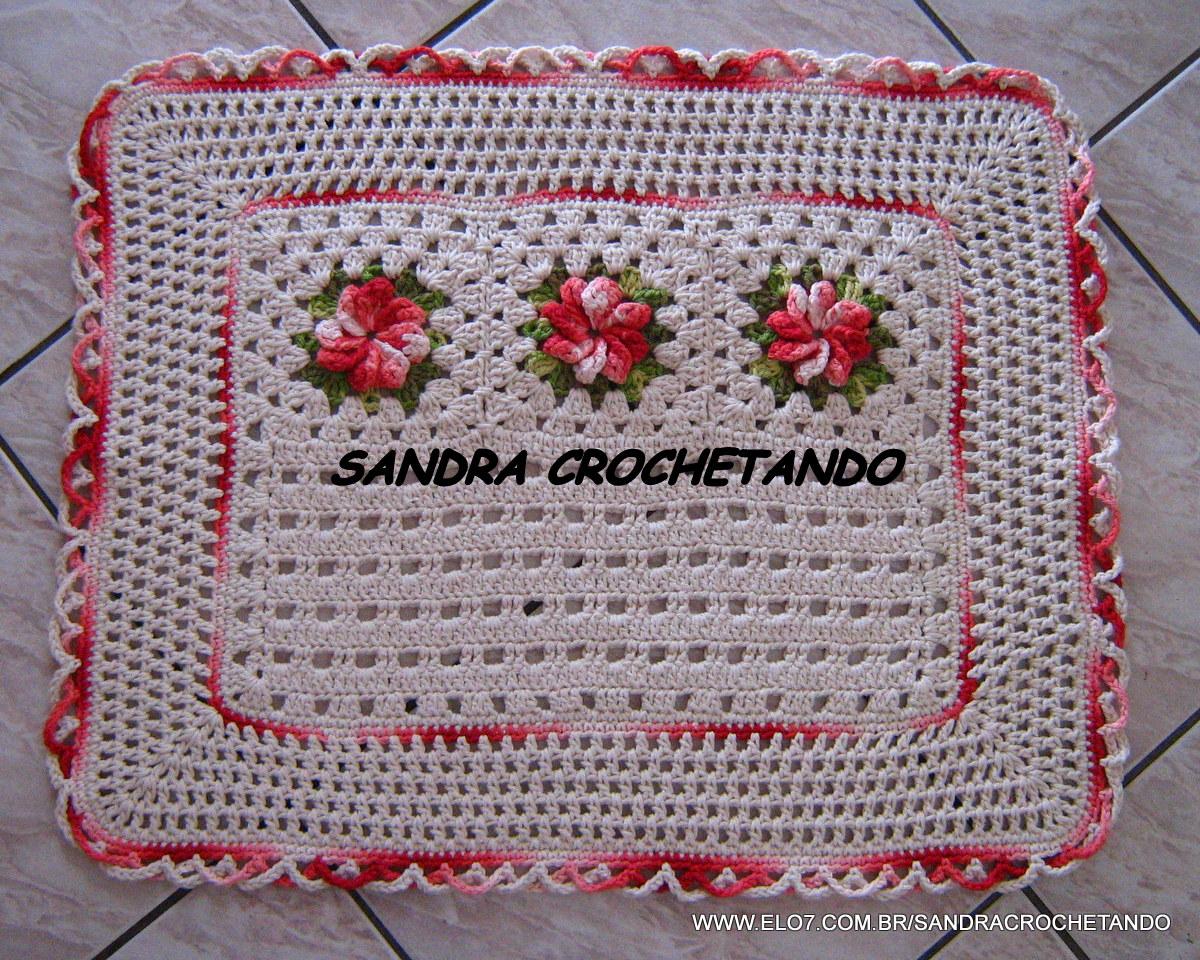 Postado por Sandra Crochetando