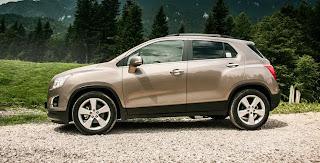 Noul Chevrolet Trax SUV