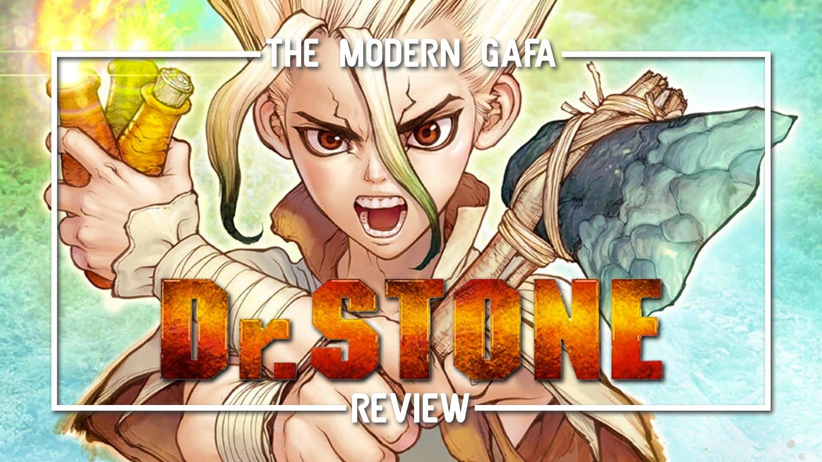 The Modern Gafa Review Dr Stone Vol 1