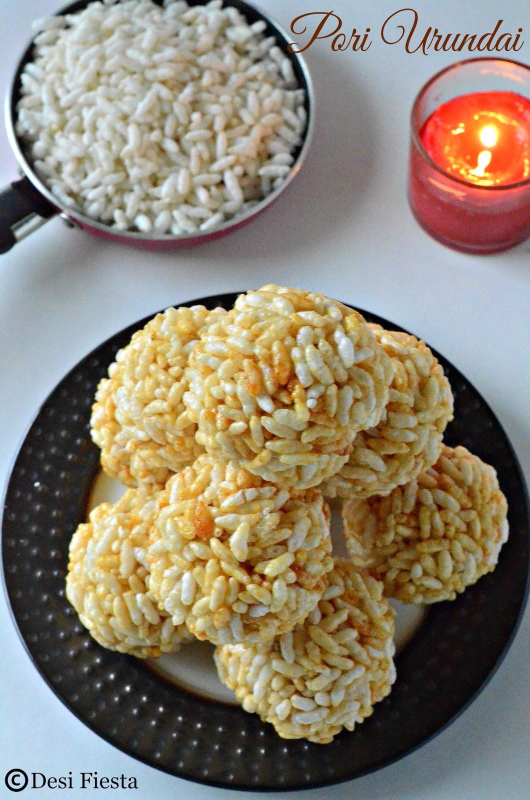 Puffed Rice ladoo