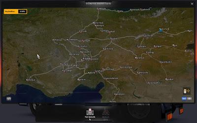 Euro Truck Simulator 2 Anadolu Haritası Yaması İndir
