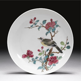 Youngzheng Famille Rose plate