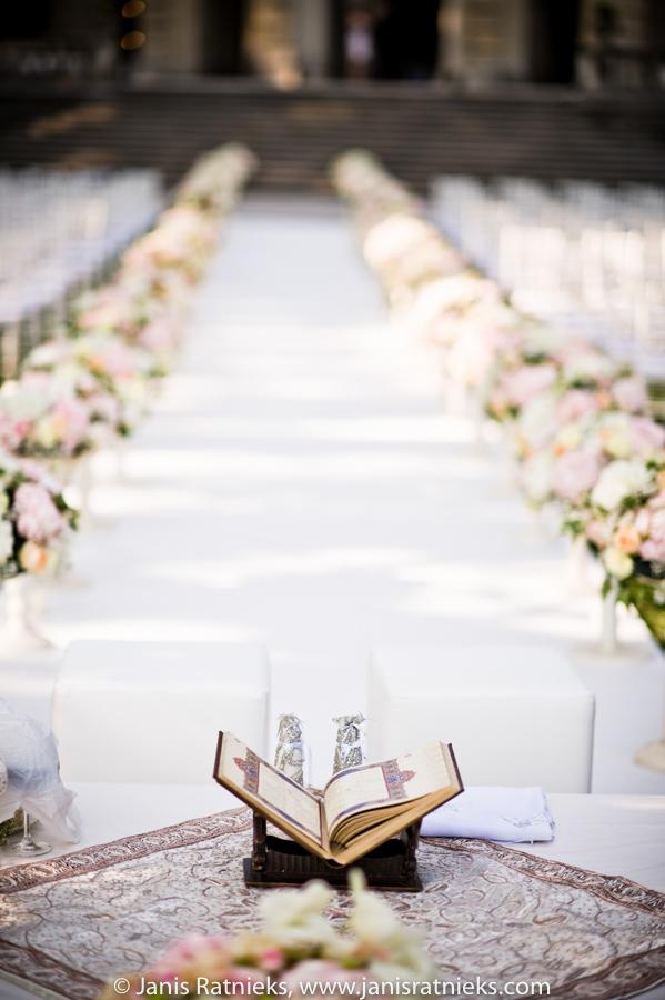 Quran Persian Wedding Ceremony Setup