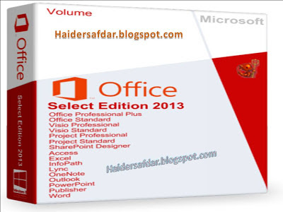 Microsoft Office Select Edition 2013 32\ 64bit Free Download Full