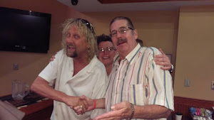"PAULIE WITH ""SAMMY HAGAR"" and HAZEL"