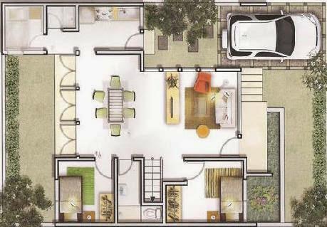 Denah Rumah Minimalis Modern Yang Terbaik  Desain Rumah