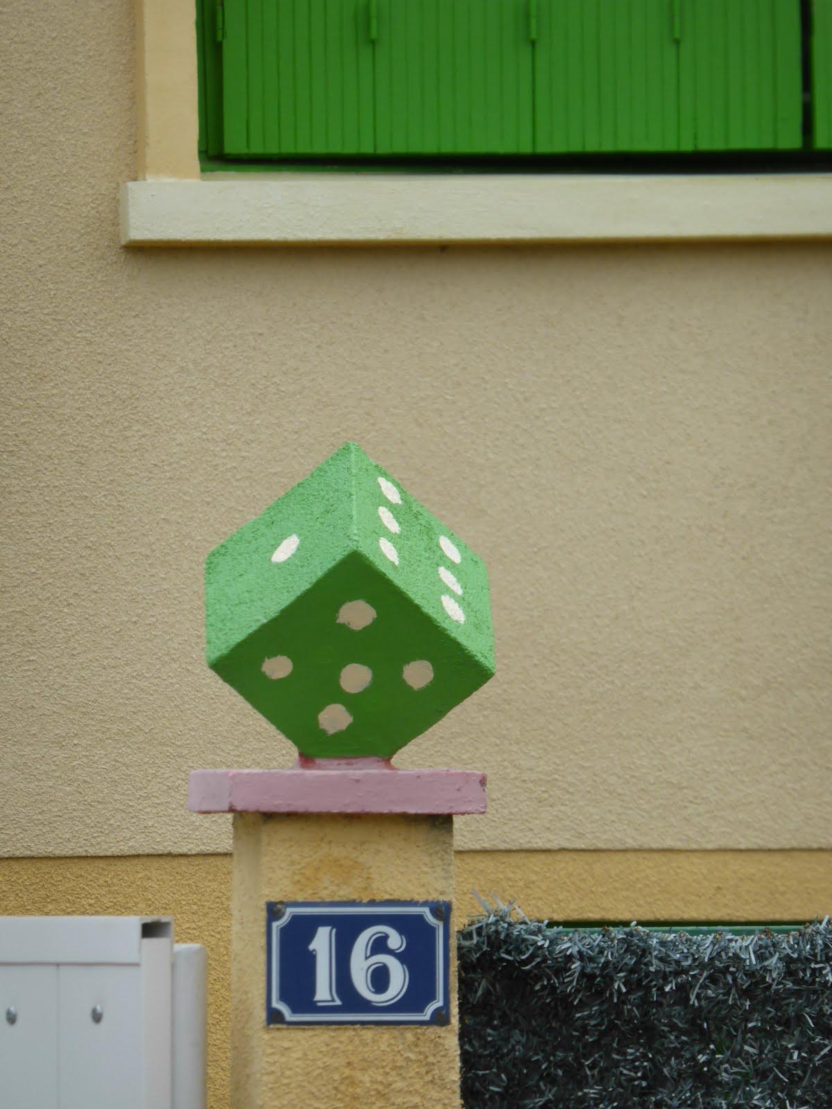 concrete dice