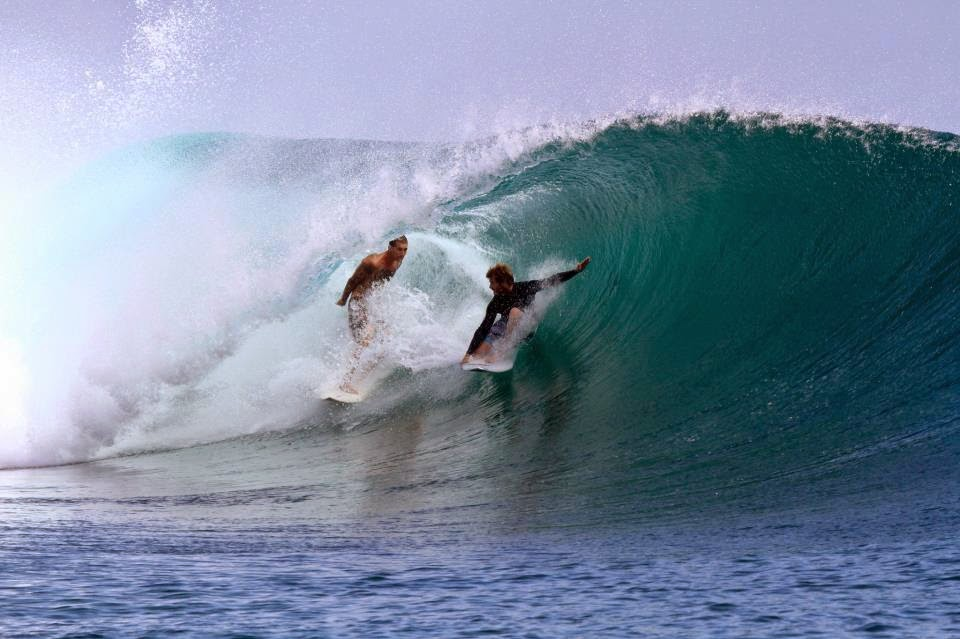 Pantai Plengkung alias G-Land surga berselancar di tengah Taman Nasional Alas Purwa.